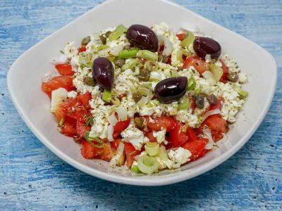 Cretan Dako Salad