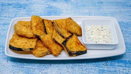 Fried Aubergines