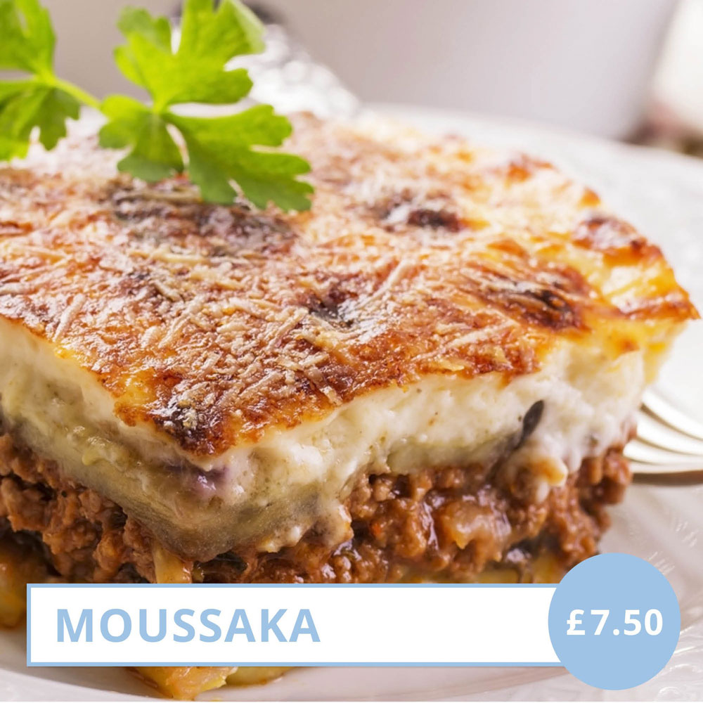 Moussakas Lunch Special