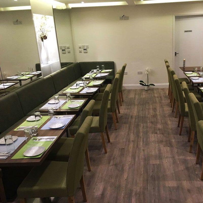 Greek Restaurant in london inside