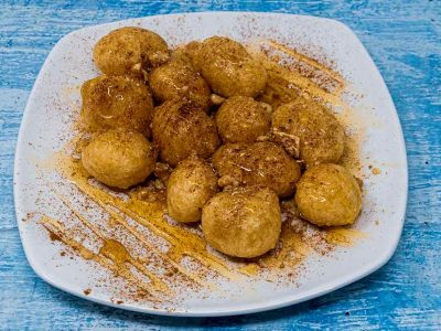 Loukoumades with Honey