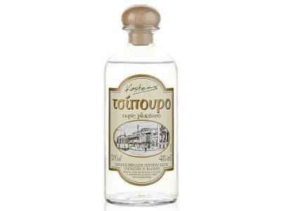 Tsipouro with glykaniso