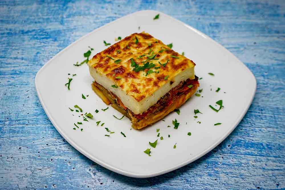 Vegetarian Moussakas