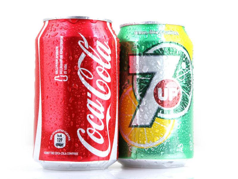 Coca cola or 7up