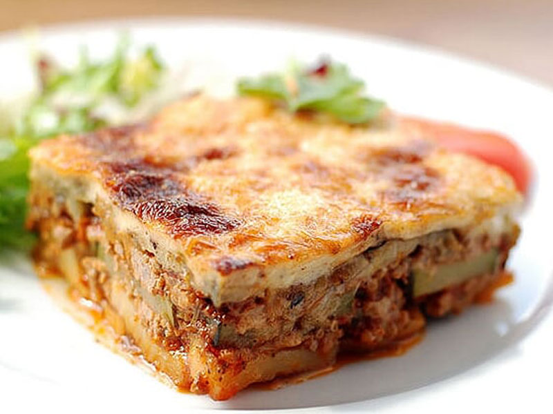 Vegerarian Moussakas