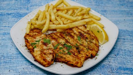 Chicken Fillets with french fries